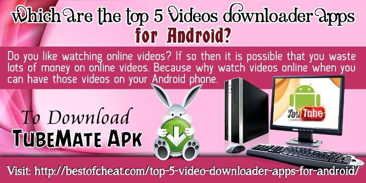 TubeMate Top 5 Video Downloader Apps For Android